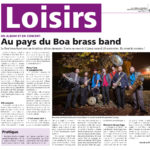 Boa Brass Band courrier de mantes 45