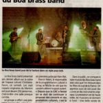 Boa Brass Band limay sortie d'album